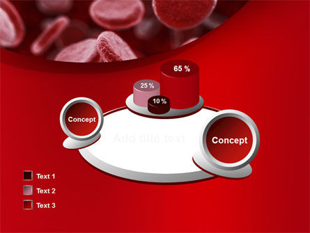 Red Blood Cells Stream PowerPoint Template Slide 16