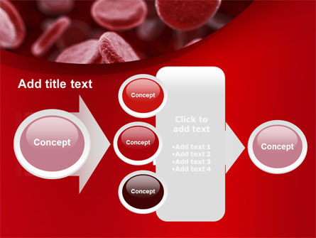 Red Blood Cells Stream PowerPoint Template Slide 17