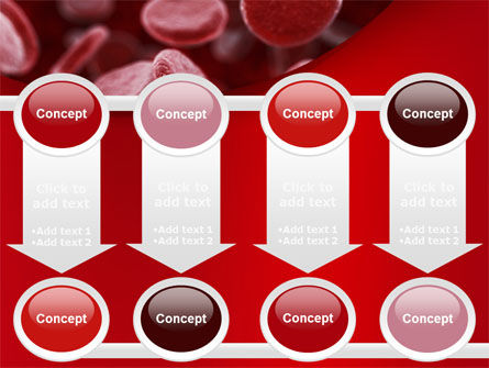 Red Blood Cells Stream PowerPoint Template Slide 18