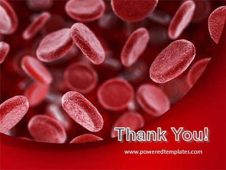 Red Blood Cells Stream PowerPoint Template Slide 20