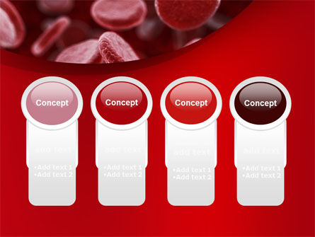 Red Blood Cells Stream PowerPoint Template Slide 5