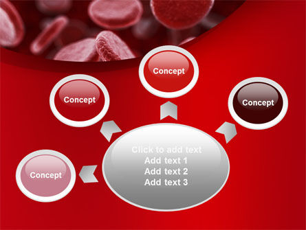 Red Blood Cells Stream PowerPoint Template Slide 7