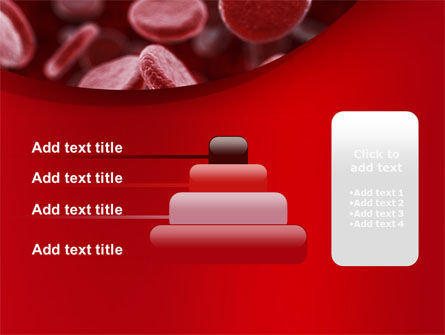 Red Blood Cells Stream PowerPoint Template Slide 8