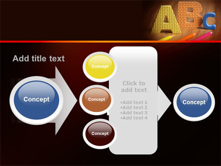 Letters For Education PowerPoint Template Slide 17