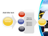 Formula One Bolide PowerPoint Template#17