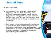 Formula One Bolide PowerPoint Template#2