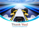 Formula One Bolide PowerPoint Template#20