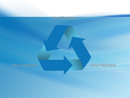 Abstract Blue PowerPoint Template Slide 10