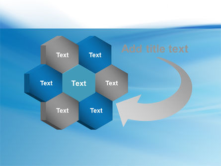 Abstract Blue PowerPoint Template Slide 11