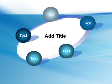 Abstract Blue PowerPoint Template Slide 14