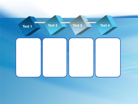 Abstract Blue PowerPoint Template Slide 18