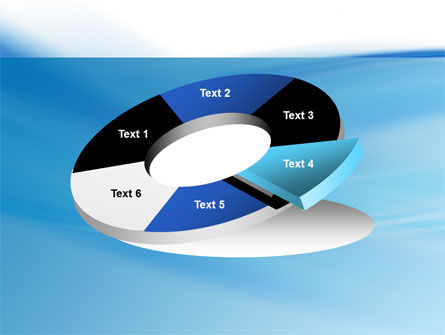 Abstract Blue PowerPoint Template Slide 19