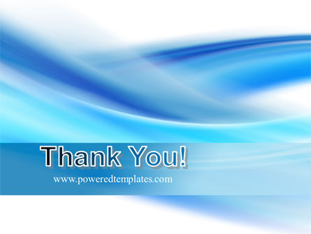 Abstract Blue PowerPoint Template Slide 20