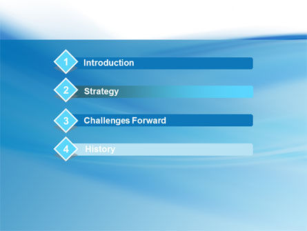 Abstract Blue PowerPoint Template Slide 3