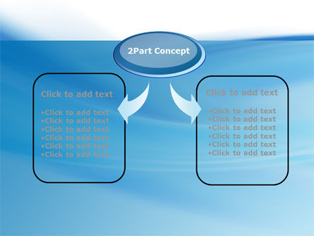 Abstract Blue PowerPoint Template Slide 4