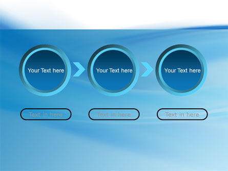 Abstract Blue PowerPoint Template Slide 5