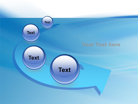 Abstract Blue PowerPoint Template Slide 6