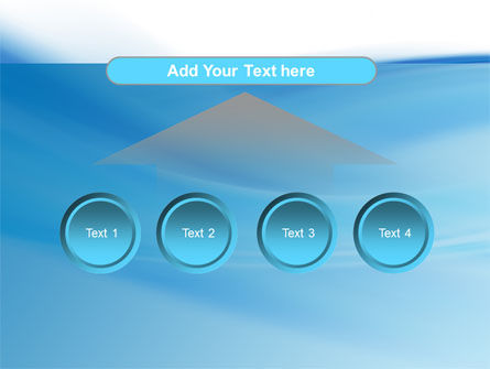 Abstract Blue PowerPoint Template Slide 8
