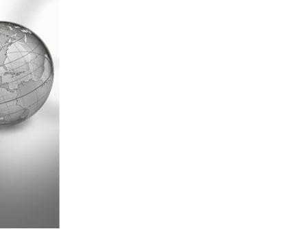 Globe Transparent Model PowerPoint Template, Slide 3, 09382, Global — PoweredTemplate.com