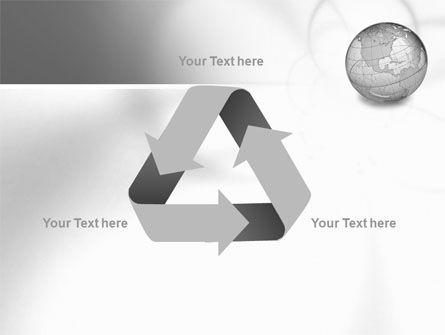 Globe Transparent Model PowerPoint Template Slide 10