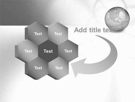 Globe Transparent Model PowerPoint Template Slide 11