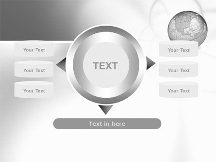 Globe Transparent Model PowerPoint Template Slide 12