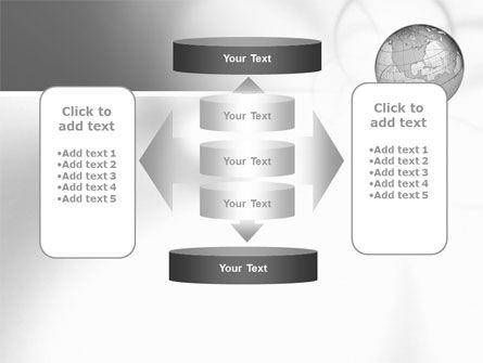 Globe Transparent Model PowerPoint Template Slide 13
