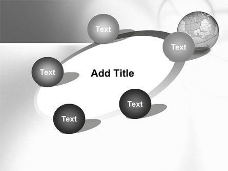 Globe Transparent Model PowerPoint Template Slide 14
