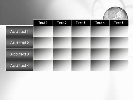 Globe Transparent Model PowerPoint Template Slide 15