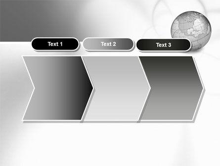 Globe Transparent Model PowerPoint Template Slide 16