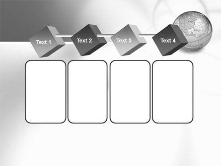 Globe Transparent Model PowerPoint Template Slide 18