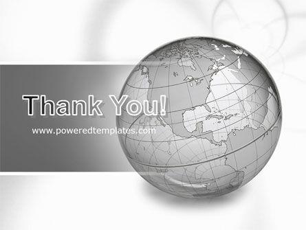 Globe Transparent Model PowerPoint Template Slide 20