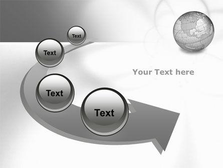 Globe Transparent Model PowerPoint Template Slide 6