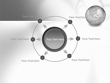 Globe Transparent Model PowerPoint Template Slide 7