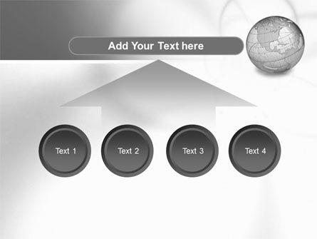 Globe Transparent Model PowerPoint Template Slide 8