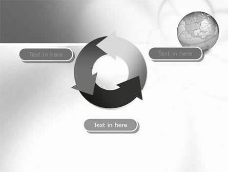 Globe Transparent Model PowerPoint Template Slide 9