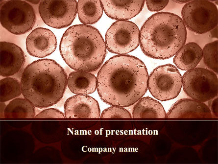 Technology and Science: Cells Colony PowerPoint Template #09383