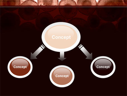 Cells Colony PowerPoint Template, Slide 4, 09383, Technology and Science — PoweredTemplate.com
