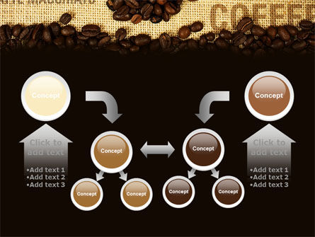 Coffee Beans On A Canvas PowerPoint Template Slide 19