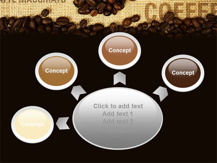 Coffee Beans On A Canvas PowerPoint Template Slide 7