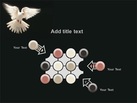 Soaring Dove PowerPoint Template Slide 10