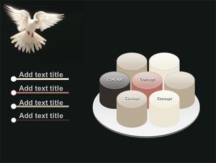 Soaring Dove PowerPoint Template Slide 12