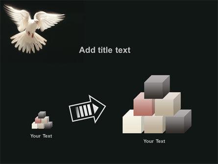 Soaring Dove PowerPoint Template Slide 13