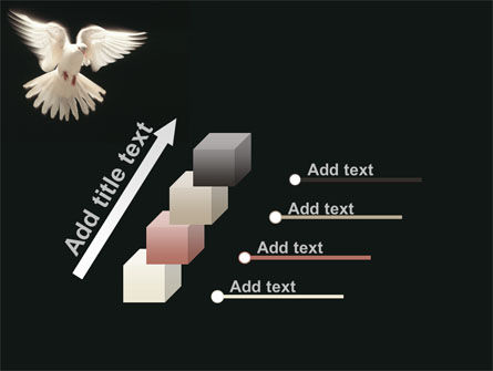 Soaring Dove PowerPoint Template Slide 14