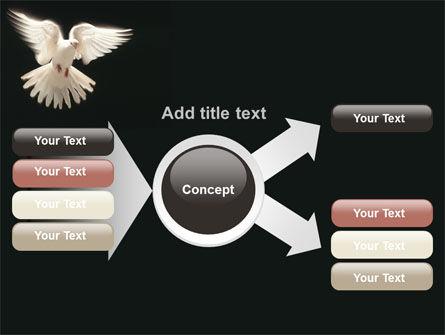 Soaring Dove PowerPoint Template Slide 15