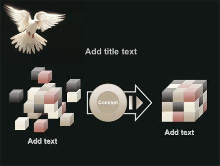 Soaring Dove PowerPoint Template Slide 17