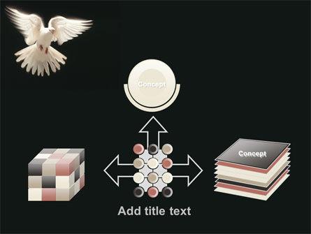 Soaring Dove PowerPoint Template Slide 19