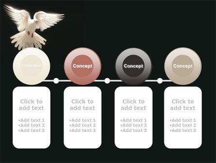 Soaring Dove PowerPoint Template Slide 5