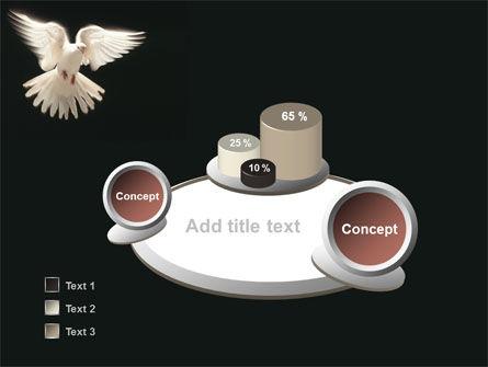 Soaring Dove PowerPoint Template Slide 6