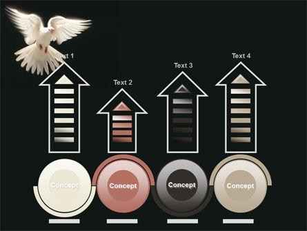 Soaring Dove PowerPoint Template Slide 7